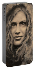 Portrait Of Annie Portable Battery Charger