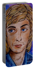 Portrait Of Barry 2 Portable Battery Charger