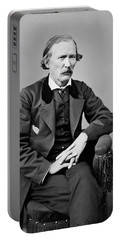 Portrait Of Kit Carson Portable Battery Charger