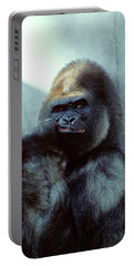 Portrait Of Male Gorilla Gorilla Gorilla Portable Battery Charger