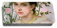 Portrait Of Mrs George Henry Boughton Portable Battery Charger
