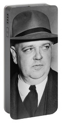 Portrait Of Whittaker Chambers Portable Battery Charger