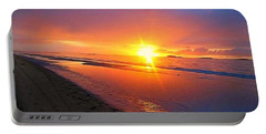 Portrush Sunset Portable Battery Charger