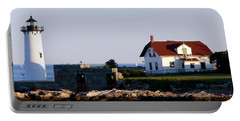 Portsmouth Harbor Light Portable Battery Charger by Kevin Fortier