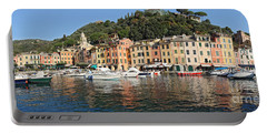 Portable Battery Charger featuring the photograph Porttofino - Italy by Antonio Scarpi