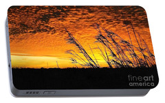Portable Battery Charger featuring the photograph Post Hurricane Rita At Dockside In Beaumont Texas Usa by Michael Hoard