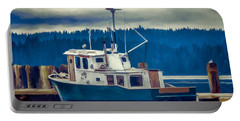Poulsbo Waterfront 03 Portable Battery Charger by Wally Hampton