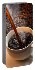 Pouring Coffee Portable Battery Charger