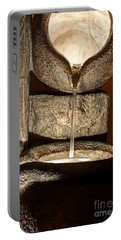 Pouring Out Water Art Prints Portable Battery Charger