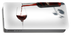 Pouring Red Wine  Portable Battery Charger