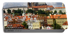 Portable Battery Charger featuring the photograph Prague Skyline by Ira Shander