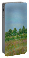 Prairie Morning Light Portable Battery Charger by Gail Kent