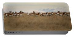 Prairie Pronghorns Portable Battery Charger