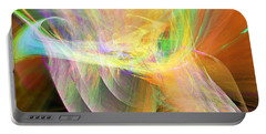 Portable Battery Charger featuring the digital art Praise by Margie Chapman
