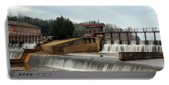 Prattville Dam Prattville Alabama Portable Battery Charger by Charles Beeler