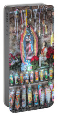 Prayers To Our Lady Of Guadalupe Portable Battery Charger