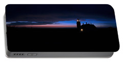 Pre Dawn Light Panorama At Quoddy Portable Battery Charger by Marty Saccone