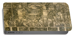 Presentation Drawing Of The Automotive Panel For The North Wall Of The Detroit Industry Mural Portable Battery Charger