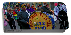 New Orleans Jazz Band  Portable Battery Charger by Luana K Perez