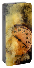 Pressure Gauge With Smoke Portable Battery Charger