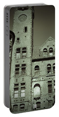 Preston Castle Tower Portable Battery Charger by Holly Blunkall