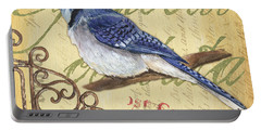 Pretty Bird 4 Portable Battery Charger by Debbie DeWitt