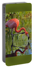 Pretty Flamingo Portable Battery Charger