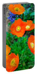 Pretty In Orange Portable Battery Charger
