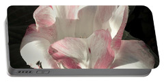 Pretty In Pink Portable Battery Charger by Photographic Arts And Design Studio