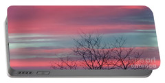 Pretty In Pink Sunrise Portable Battery Charger