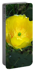 Prickly Pear Cactus Portable Battery Charger