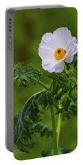 Prickly Poppy Portable Battery Charger