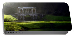 Portable Battery Charger featuring the digital art Prior Park Bath by Ron Harpham
