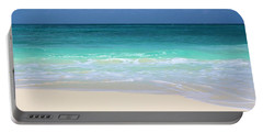 Pristine Beach Cancun Portable Battery Charger