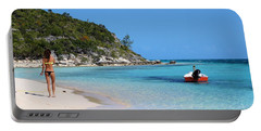 Private Beach Bahamas Portable Battery Charger