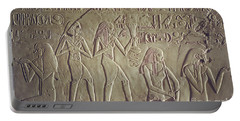Private Tomb Of Kheruef Kheruf Cheriuf Tt 192 Asasif-stock Image-fine Art Print-valley Of The Kings Portable Battery Charger