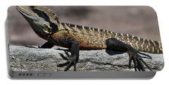 Portable Battery Charger featuring the photograph Profile Of A Waterdragon by Miroslava Jurcik