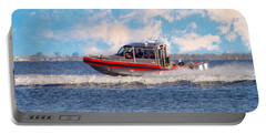 Protecting Our Waters - Coast Guard Portable Battery Charger