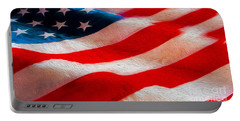 Proud To Be American Portable Battery Charger