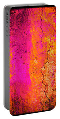 Psychedelic Flashback - Late 1960s Portable Battery Charger by Absinthe Art By Michelle LeAnn Scott