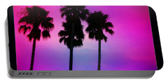 Psychedelic Palms Portable Battery Charger
