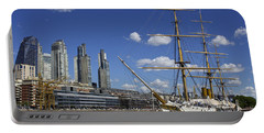 Puerto Madero Buenos Aires Portable Battery Charger by Venetia Featherstone-Witty