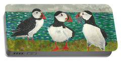 Puffin Island Portable Battery Charger by John Williams