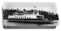 Puget Sound Ferry Boat Portable Battery Charger