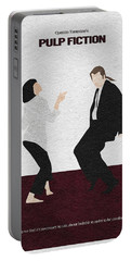 Pulp Fiction 2 Portable Battery Charger by Ayse Deniz