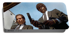 Pulp Fiction Artwork 1 Portable Battery Charger