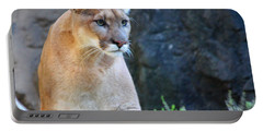 Puma On The Watch Portable Battery Charger by John Telfer