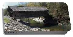Pumping Station Covered Bridge Portable Battery Charger