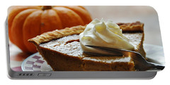 Pumpkin Delight Portable Battery Charger by Cheryl Baxter