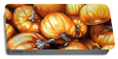 Pumpkin Palooza Portable Battery Charger